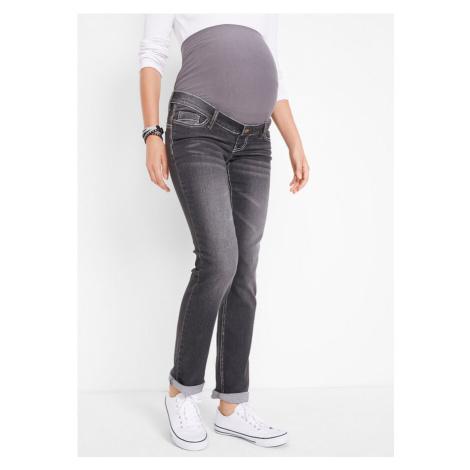 Materské džínsy, multi-streč, straight