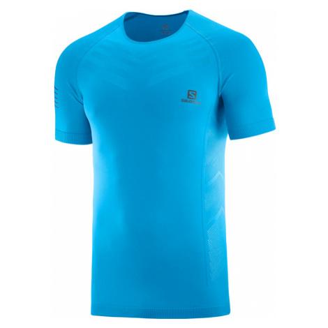 Pánske tričko Salomon Sense Pro Tee modré