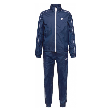 Nike Sportswear Tréningový komplet  námornícka modrá / biela