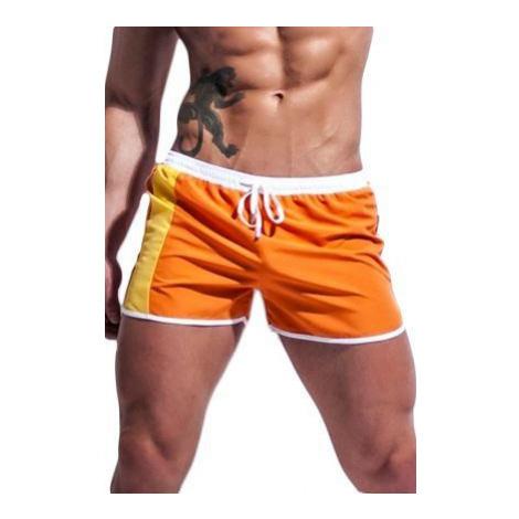 Alpha Male boxerkové plavky Curso oranžové Alpha Male Undies