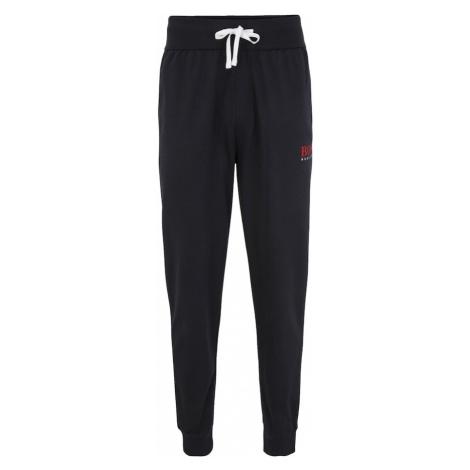 BOSS Casual Pyžamové nohavice  tmavomodrá / červená / biela