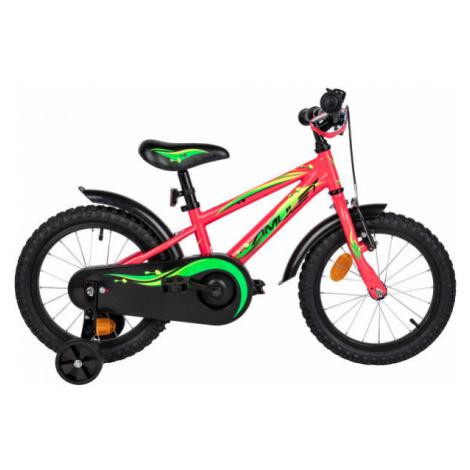 Amulet MINI 16 ružová - Detský bicykel