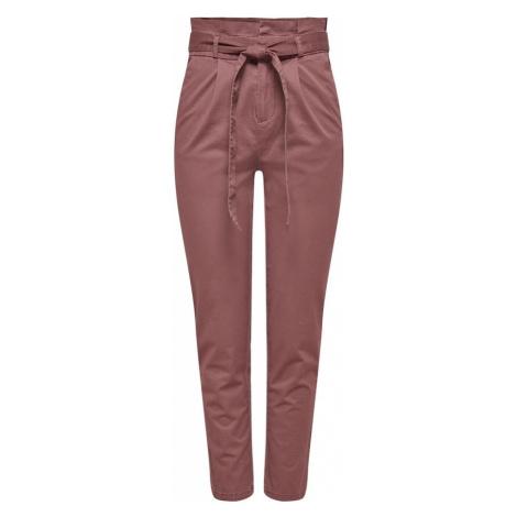 ONLY Plisované nohavice  fialová