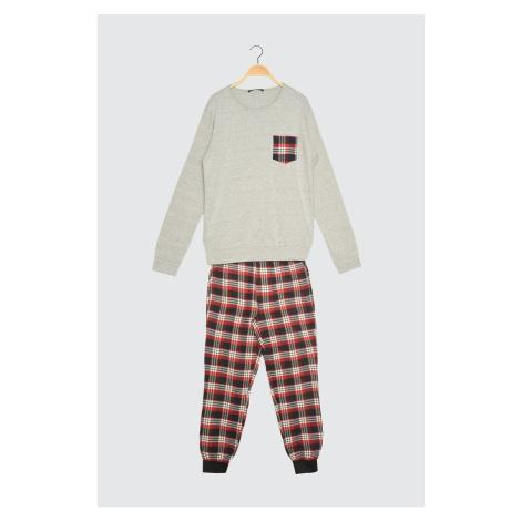 Pánske pyžamo Trendyol Plaid