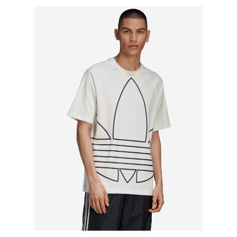 Big Trefoil Outline Triko adidas Originals Biela