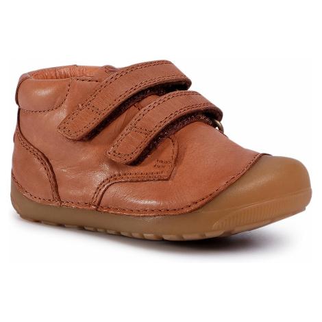 Outdoorová obuv BUNDGAARD - Petit Velcro BG101068 M Caramel Ws 213