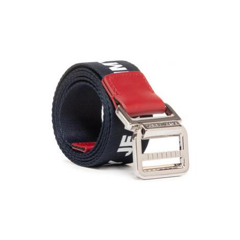Tommy Jeans Dámsky opasok Tjw Webbing Belt 3.5 AW0AW08068 Tmavomodrá Tommy Hilfiger