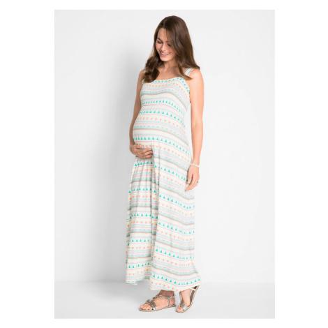Materské úpletové šaty