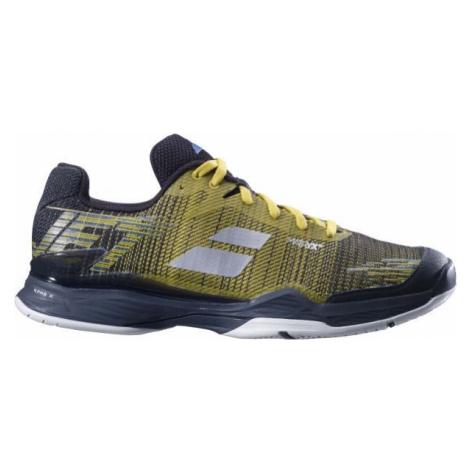 Babolat JET MACH II M ALL COURT žltá - Pánska tenisová obuv