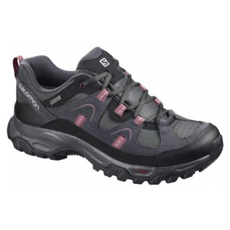 Salomon FORTALEZA GTX W šedá - Dámska outdoorová obuv