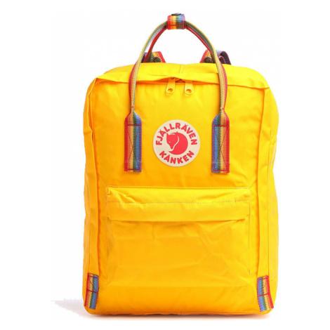Fjällräven Kånken Rainbow Warm Yellow-One size farebné F23620-141-907-One-size