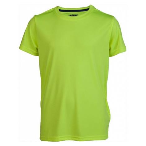 Kensis REDUS žltá - Chlapčenské športové tričko