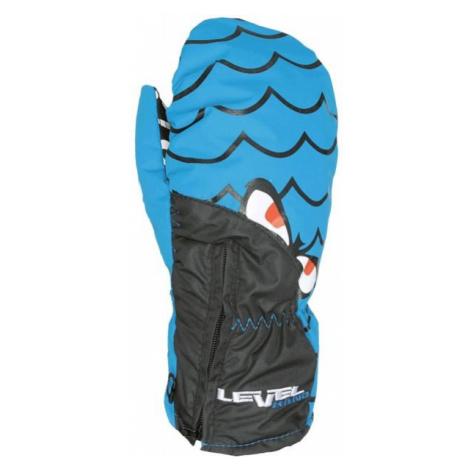 Level LUCKY MITT JR modrá - Detské lyžiarske rukavice