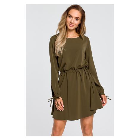 Zelené šaty M426 Moe
