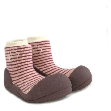 ATTIPAS Detské topánočky Forest Pink