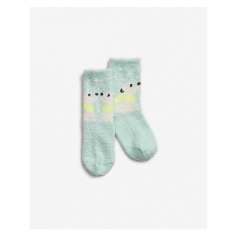 Modré dievčenské ponožky