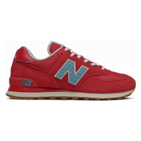 New Balance ML574STR červená - Pánska voľnočasová obuv