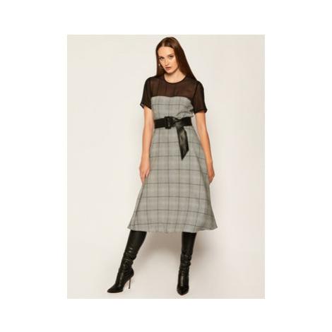 Marella Každodenné šaty Volt 32264108 Sivá Regular Fit