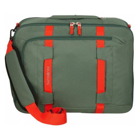 Samsonite Taška na notebook/batoh 2v1 15,6'' Sonora EXP 28/32,5 l - zelená