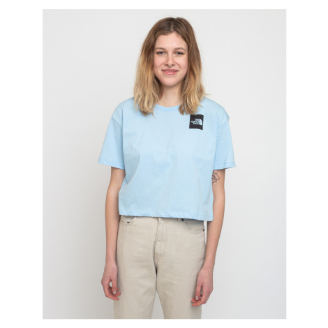 The North Face W Cropped Fine Tee Angel Falls Blue