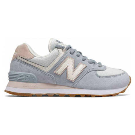 New Balance WL574SUO šedá - Dámska obuv na voľný čas