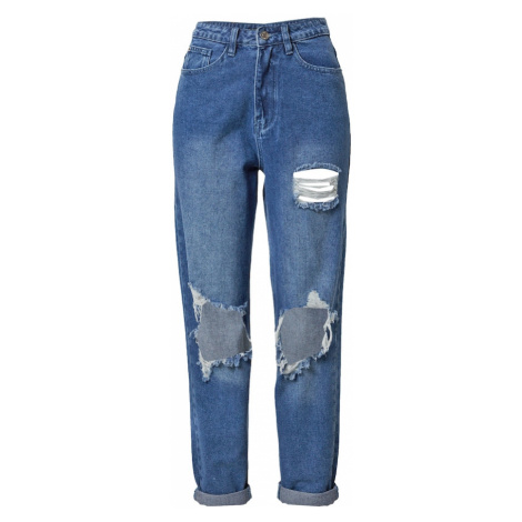 Missguided Džínsy  modrá denim