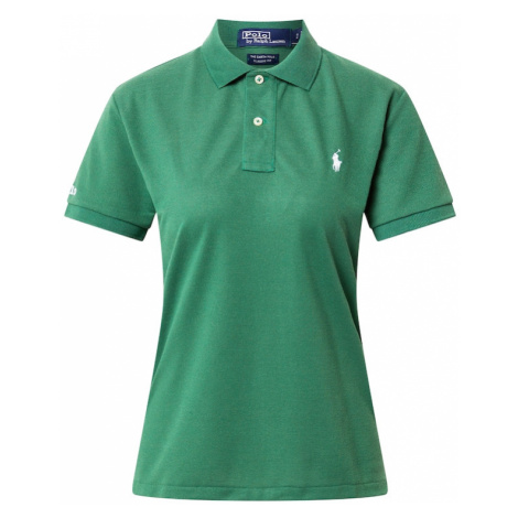 Polo Ralph Lauren Tričko  zelená / biela