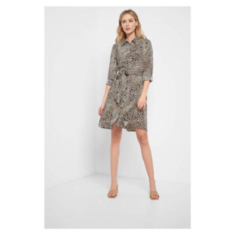 Košeľové, vzorované šaty Orsay