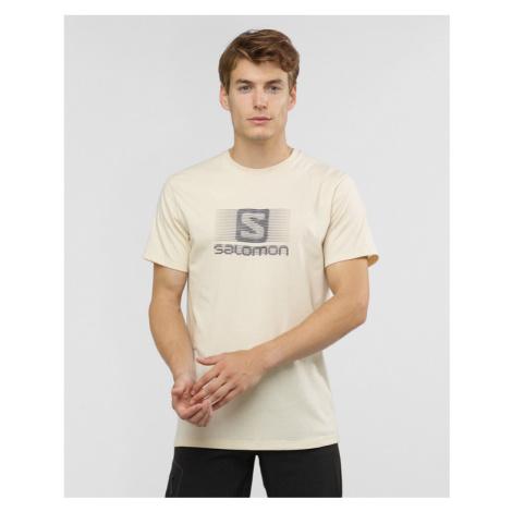 Salomon Blend Logo Tričko Béžová