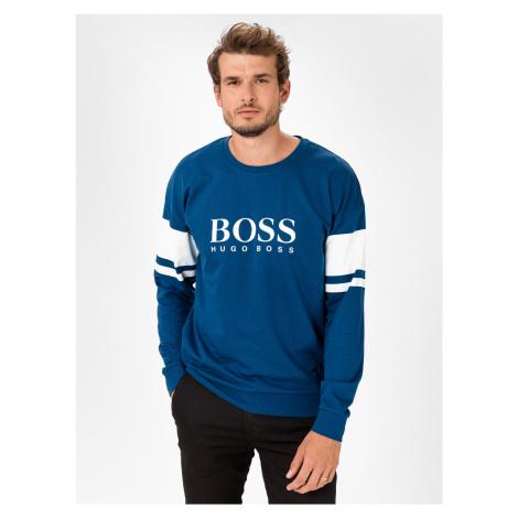 Authentic Triko BOSS Modrá Hugo Boss