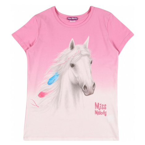 Miss Melody Tričko  ružová / biela / modrá