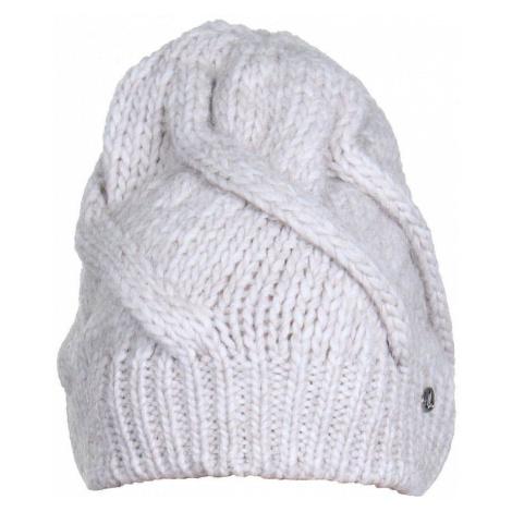 Screw Beanie dámská zimní čepice barva: béžová