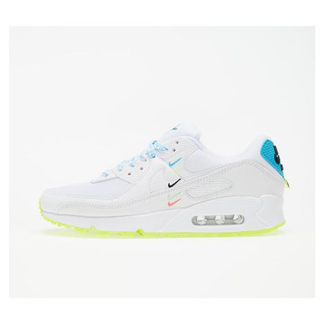 Nike W Air Max 90 Ww White/ White-Blue Fury-Volt