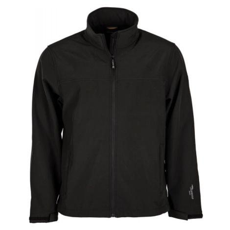 Hi-Tec LUMMER SOFTSHELL JACKET čierna - Pánska softshellová bunda