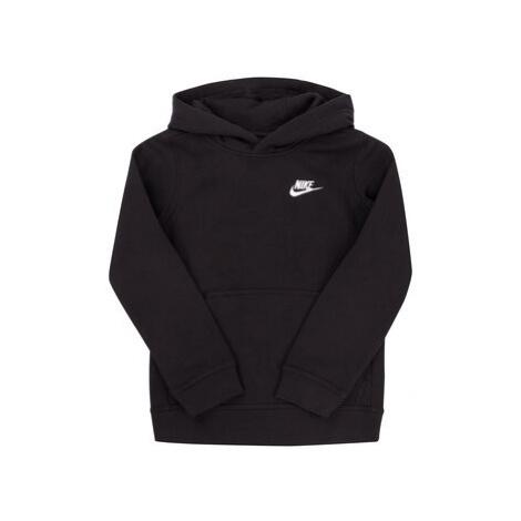 Nike Mikina Sportswear Club BV3757 Čierna Regular Fit