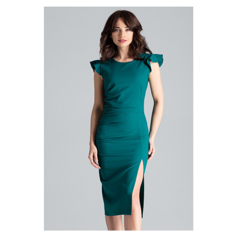 Zelené šaty L034 Lenitif