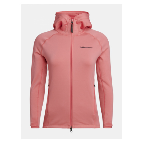 Mikina Peak Performance W Chill Zip Hood