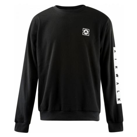 Airwalk Crew Sweatshirt Mens Black