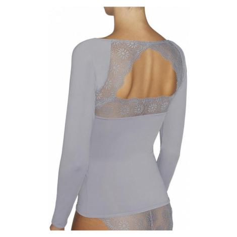Dámske tričko s dlhým rukávom 19185 sivá - Ysabel Mora