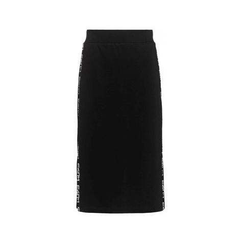 Hugo Puzdrová sukňa Neliona 50434573 Čierna Slim Fit Hugo Boss