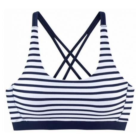 VENICE BEACH Bikinový top 'Summer'  námornícka modrá / biela
