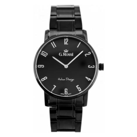Pánske čierne hodinky G.Rossi 10194B-1A1 Gino Rossi