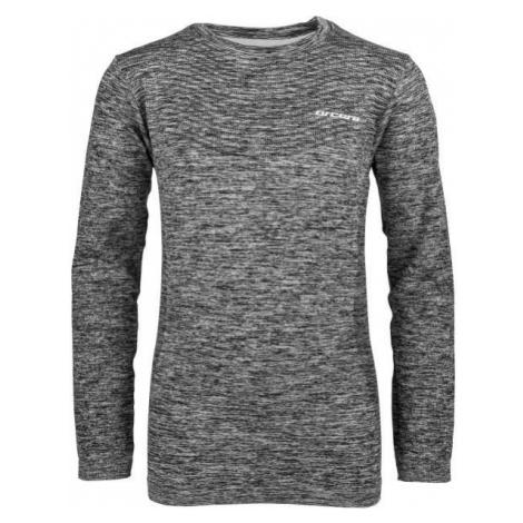 Arcore MAUD čierna - Detské funkčné tričko s dlhým rukávom