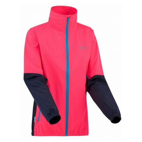 Dámska vetruodolná bunda Kari Traa Nora Jacket pink