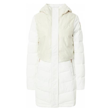 ICEPEAK Outdoorový kabát 'Altenau'  biela / prírodná biela