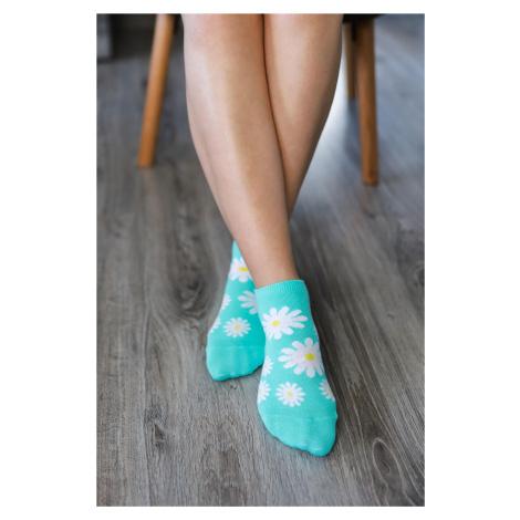 Barefoot ponožky krátke - Margarétky 43-46