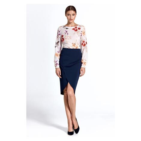 Colett Woman's Skirt Csp04 Navy Blue