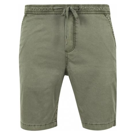 Pánske šortky Twill zelené Urban Classics