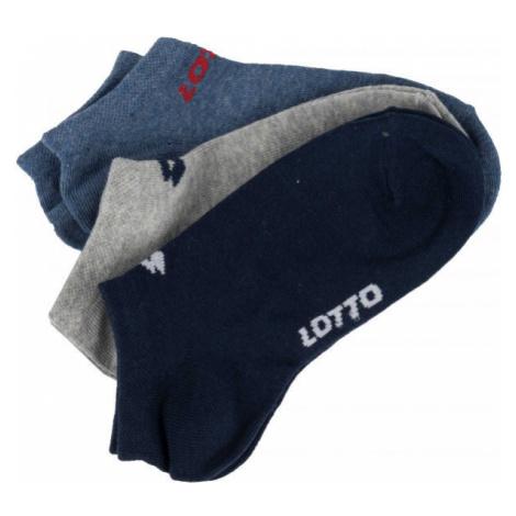 Lotto N BR82 3P šedá - Chlapčenské ponožky