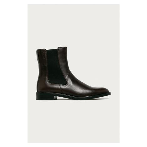 Vagabond - Kožené topánky Chelsea Frances